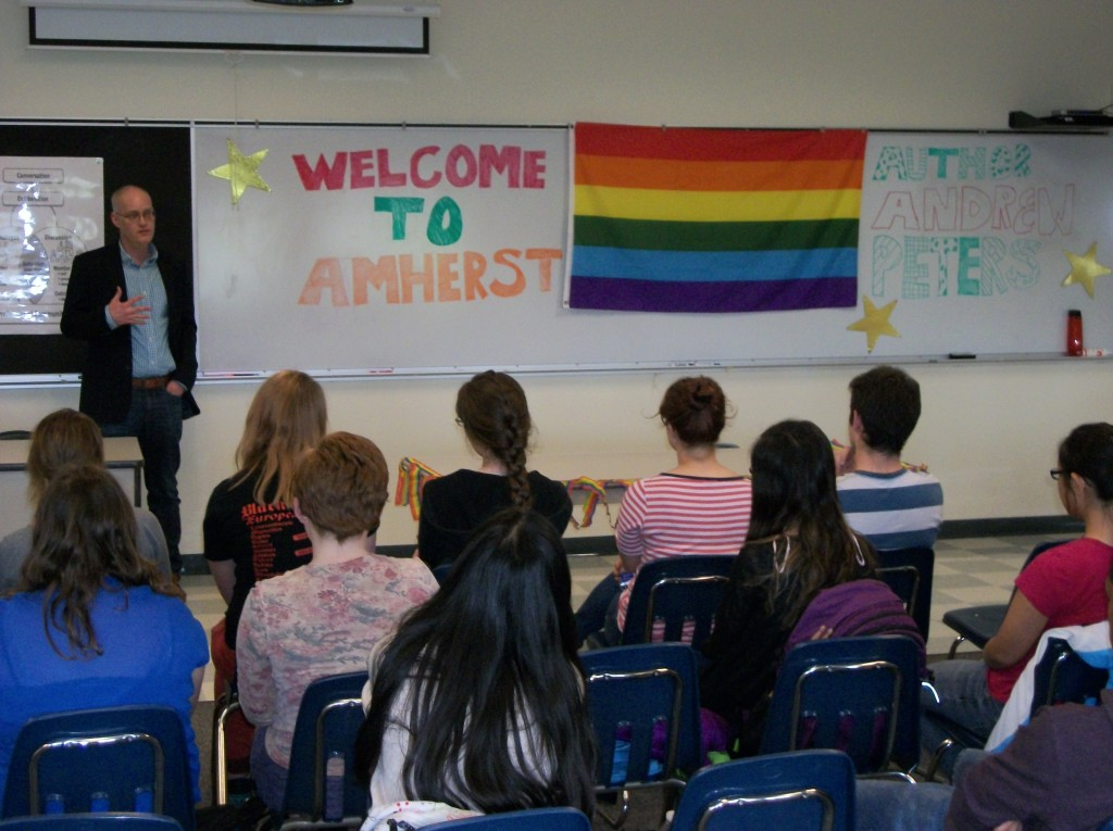 Speaking to students at my hometown high school