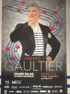 My husband and I attended the Gaultier exhibit at the Grand Palais.