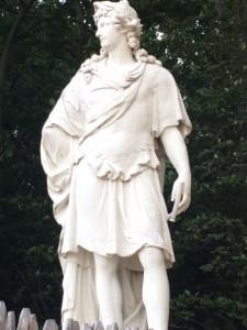 A nobleman at Versailles