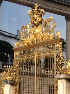 Gates of the Chateau de Versailles
