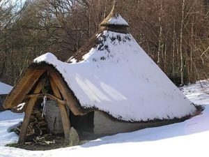 A neolithic hut